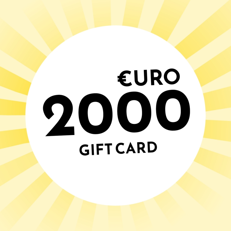 2,000€ gift card from Holzkern