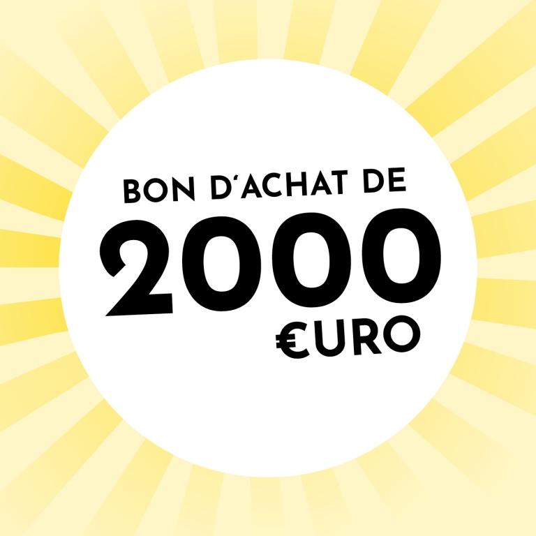 Bon d'achat de 2000 € de Holzkern