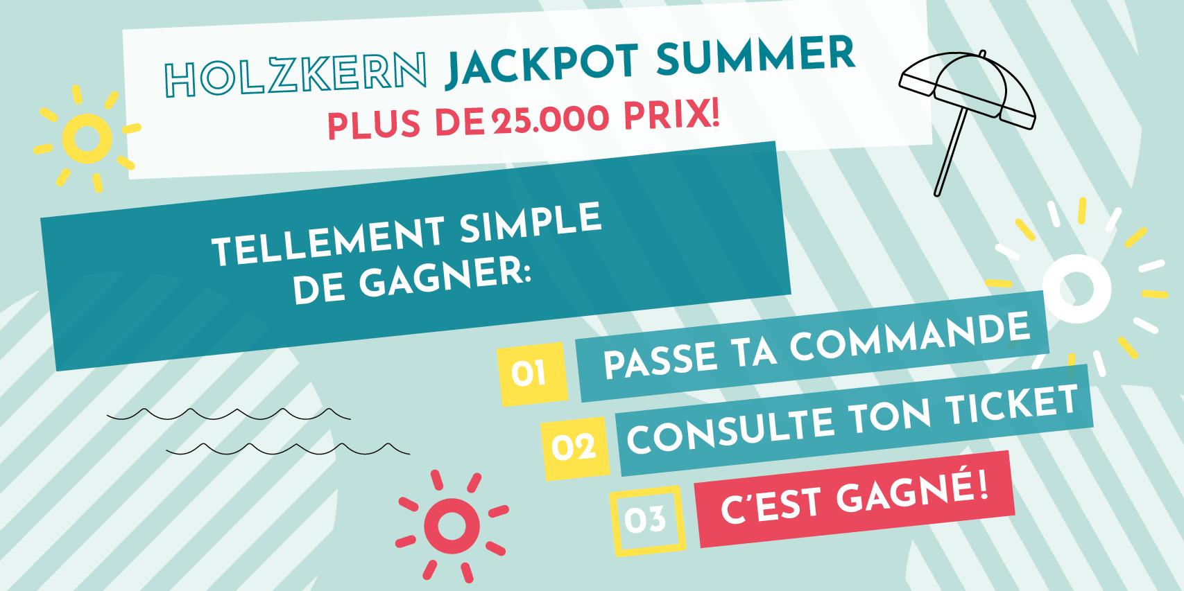 Holzkern Jackpot Summer