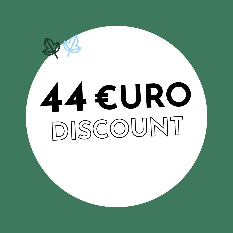 44€ Discount