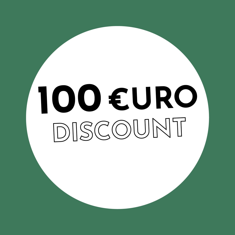 100€ Discount