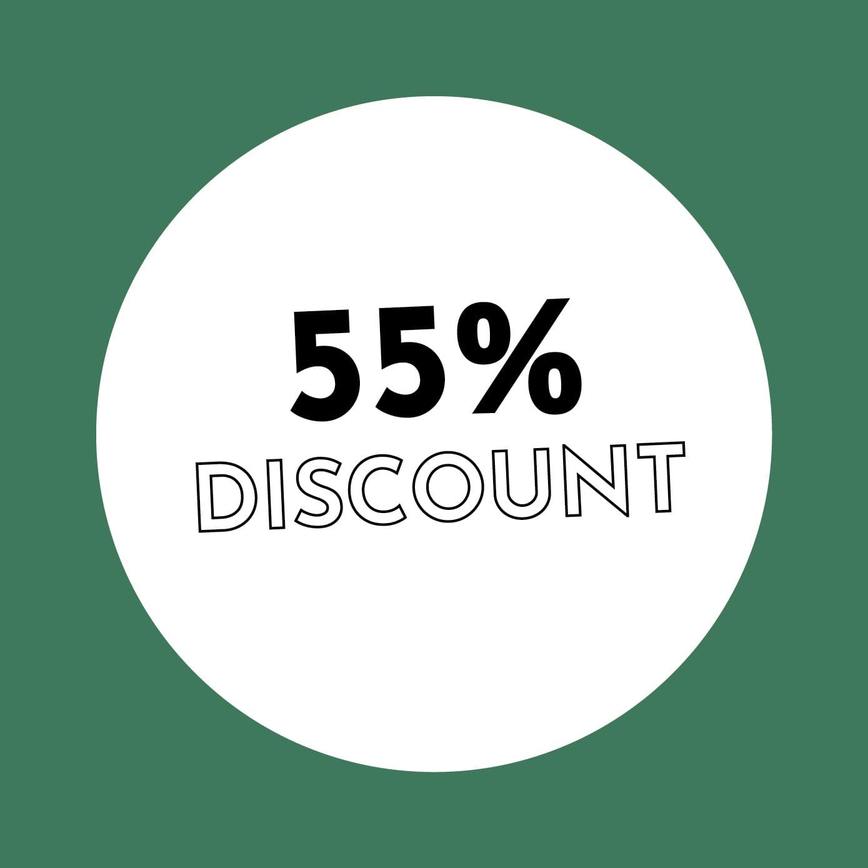 55% Discount