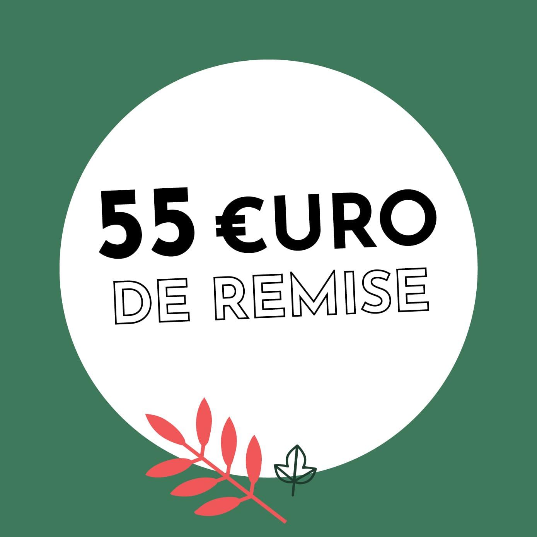 55€ de réduction