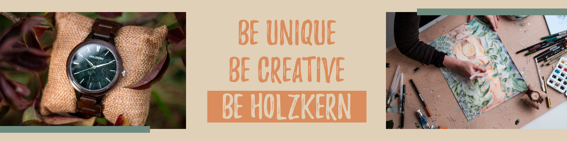 Natural accessories from Holzkern - Discover now