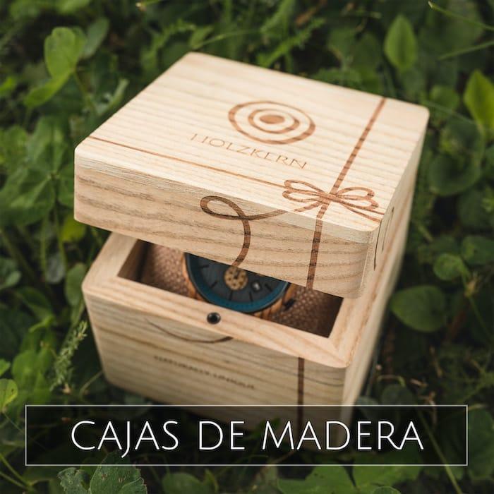 Holzkern cajas