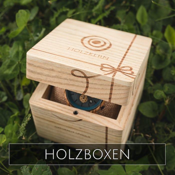 Holzkern Holzboxen