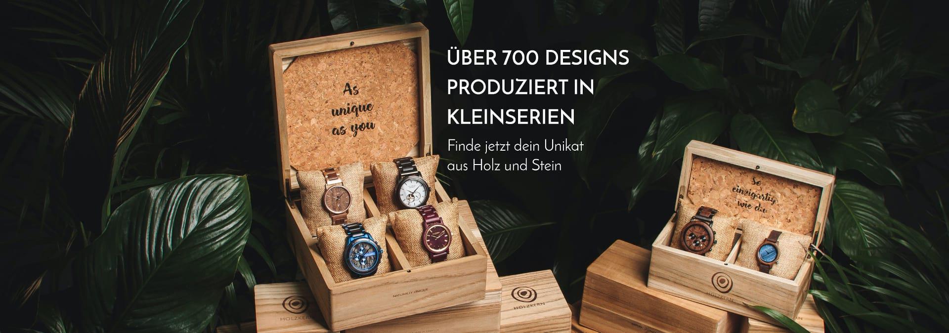 Über 700 Designs