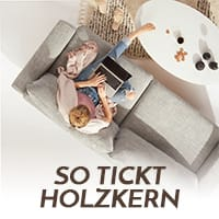 So tickt Holzkern