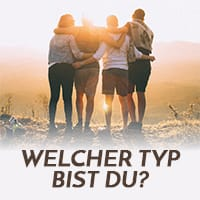 Welcher Typ bist du?