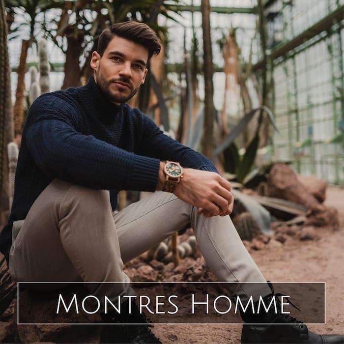 Montres Holzkern Homme