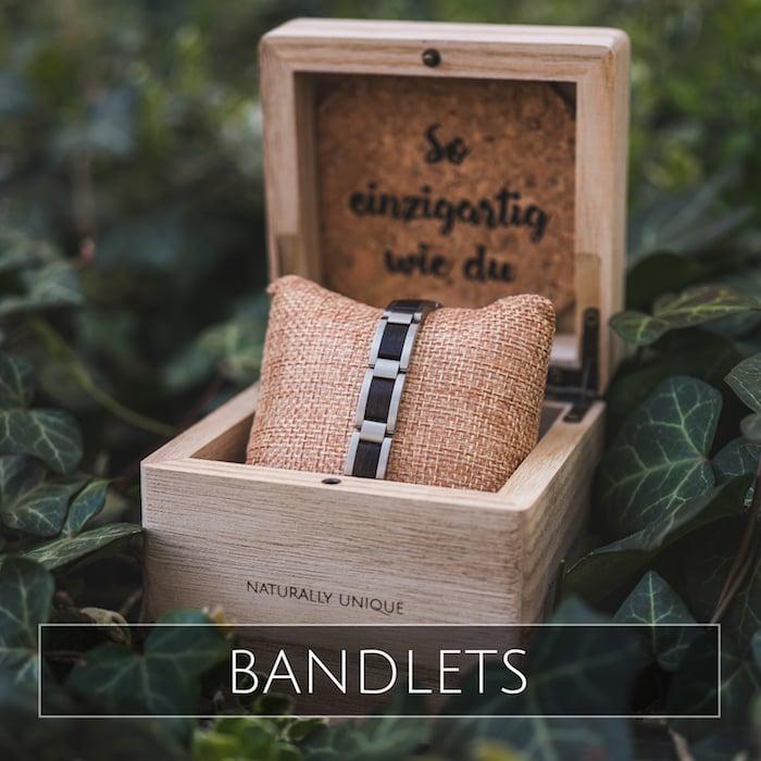 Holzkern Schmuckarmbänder