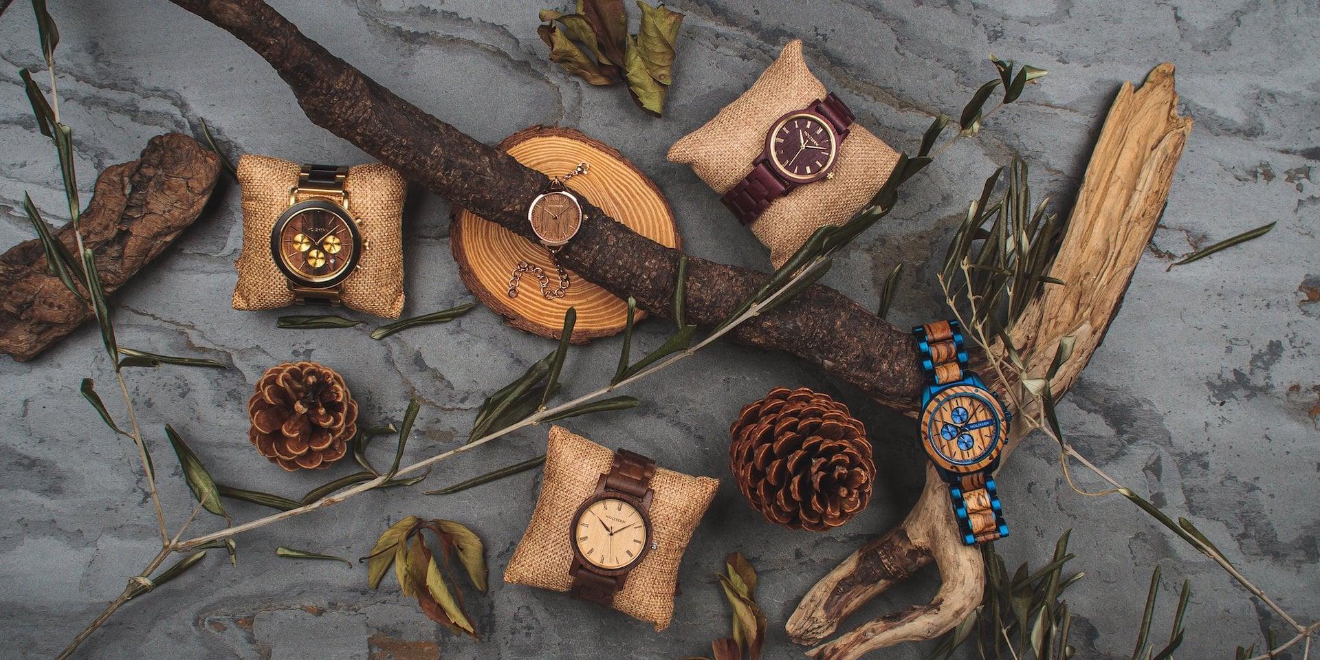 Natürliche Vielfalt bei Holzkern